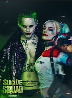 The Joker & Harley Quinn Suicide Squad Injustice Legion Of Doom Jared Leto Margot Robbie DC Comics Joker and Harley - SkooB Leto Joker, Joker Cosplay, Suside Squad, Harley Quinn Et Le Joker, Harley Queen, Kings & Queens, Daddys Lil Monster, Univers Dc, Joker Wallpapers