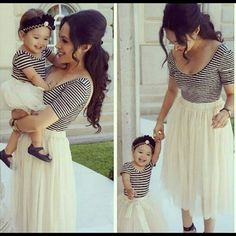mommy and daughter matching outfits -