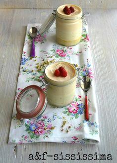 acqua e farina-sississima: RE-CAKE 10: peach chamomille mousse cakes