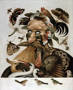 Giclee Print: An Allegory of Air by Giuseppe Arcimboldo : Italian Painters, Italian Artist, Giuseppe Arcimboldo, Lascaux, Find Art, Framed Artwork, Love Art, Art History, Giclee Print