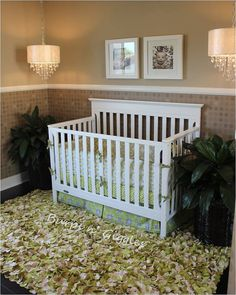 Custom Baby Crib Bedding Set, You design I create in your choice of prints