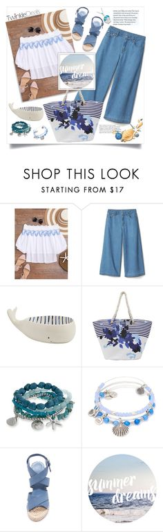 """""""Twinkledeals.Summer dreams"""" by natalyapril1976 on Polyvore featuring Mud Pie, Joules, Erica Lyons, Alex and Ani, Joie and Bling Jewelry"""