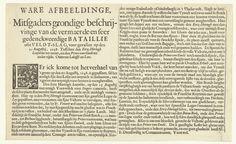 Pieter Nolpe | Tekstblad bij de prent van het gevecht bij Lens, 1648, Pieter Nolpe, 1648 | Tekstblad bij de prent van de veldslag bij Lens tussen de Fransen onder de prins van Condé en de Spanjaarden onder de aartshertog Leopold Willem, waarbij de Fransen overwonnen, 20 augustus 1648. Tekst in 2 kolommen met een beschrijving van de veldslag in het Nederlands.