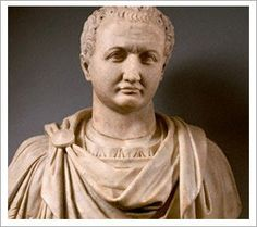 Titus was Roman Emperor from 79 to 81. A member of the Flavian dynasty, Titus succeeded his father Vespasian upon his death, thus becoming the first Roman Emperor to come to the throne after his own biological father.