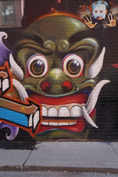 Toronto Street Art Graffiti 18