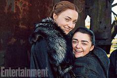 Sansa and Arya Stark Season 7