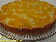 עוגת אפרסקים - נראה לי שיעבוד טוב גם עם אננס