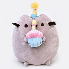 Pusheen – ToyRoo - Magical World of Toys! Cat Cupcakes, Birthday Cupcakes, Birthday Gifts, Happy Birthday, Bear Toy, Teddy Bear, Grey Tabby Cats, Pusheen, Plush Dolls