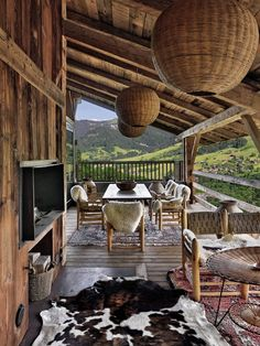 maybe i should just move here instead…. SWOOOON. minus the dead animal underfoot. *i have also always wanted a fireplace on the deck. DREAMY