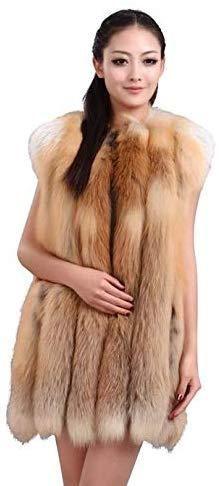 Red Fox Fur Vest Fashion Models, Punk Fashion, Embroidered Leather Jacket, Fox Fur Vest, Chic Dress, Faux Leather Jackets, Red Fox, Fur Coat, Jackets For Women