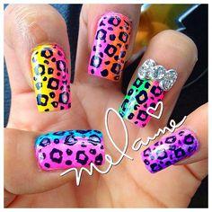 Instagram photo by nailcandii #nail #nails #nailart Stiletto Nails, Toe Nails, Leopard Print Nails, Designer Nails, Nail Products, The Claw, Nail Polish Colors, Gorgeous Nails, Fifty Shades