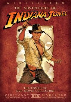 DVD Cover for the Indiana Jones Collection