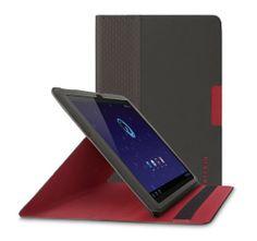 Amazon.com: Belkin UltraThin Folio Case with Stand for Samsung Galaxy Tablet 8.9 inch (Midnight / Red): Computers & Accessories