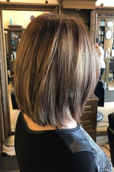 Let Your Hair Down, Down Hairstyles, Bobs, Brown Hair, Long Hair Styles, Beauty, Brown Scene Hair, Squares, Long Hair Hairdos