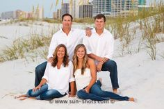 Orange Beach Family Portraits on the Beach