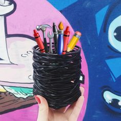 basket for the world 🌈  .  .  .  #zelenewlab #zelenew #recycledbottles #recycledplastic #ecofriendlygift #ecohome #Zelenewlab #environmentfriendly #sortyourshitout #smallart #brighthome #tinyplanet #etsyhunter
