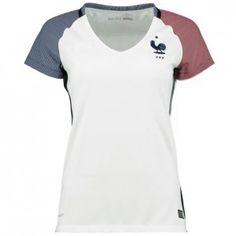 dfe151c06 France National Team 2016 Euro Away Women s Soccer Shirt Jersey  F575   Cheap Football Shirts