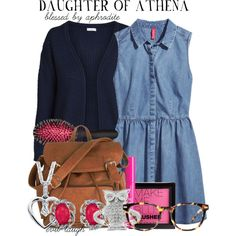 Daughter of Athena -- Blessed by Aphrodite