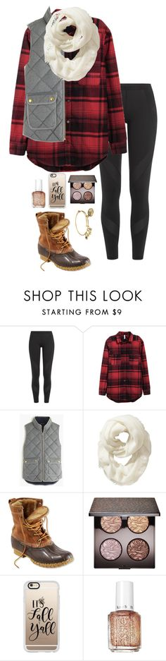 """Day O4{Christmas lights}"" by eadurbala08 ❤ liked on Polyvore featuring adidas, J.Crew, Old Navy, L.L.Bean, Laura Mercier, Casetify, Essie, Alex and Ani and ragans1yearpolycontest"