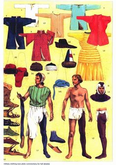 Costume Homme XIVe Siècle.