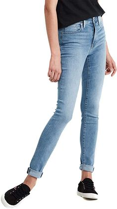 Levis  Bekleidung, Damen, Jeanshosen Levis Skinny Jeans, Levis 721 High Rise, Models, My Sunshine, Skinny Fit, Lady, Fitness, Pants, Material