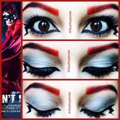 "Michael Clifford""Mike-Ro-Wave"" makeup for the eyes"