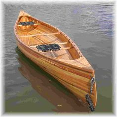 Tandem Wood canoe headed to great lakes