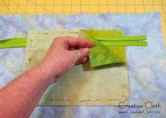 How to Design and Sew a Zipper Pocket for Your Bag | Linda Matthews: Textile Art & Design