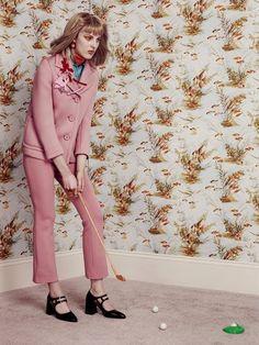 Giedre Kiaulenaite for Sunday Times Style Magazine Orange Crush