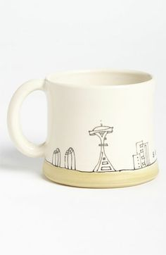 Etsy & Nordstrom Present: Seattle Cityscape Mug by Downing Pottery (Handmade in Seattle)