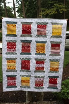 Spool  Quilt by chriso10kids, via Flickr