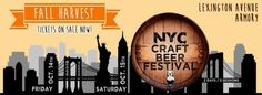 NYC Craft Beer Festival - Fall Harvest Edition returns in less than one month (sponsor)