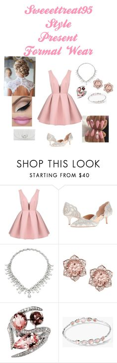 """""""Formal Wear"""" by sweeettreat95 ❤ liked on Polyvore featuring Badgley Mischka, Shaun Leane, Ippolita and Kate Landry"""