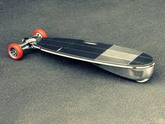 Groundsurf by 1135Garnet – frontwheel drive 3-wheeled electric longboard