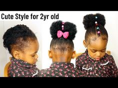 4c Natural Hairstyles Short, Little Girls Natural Hairstyles, Natural Hair Styles, Short Hair Styles, African Baby Hairstyles, Black Toddler Girl Hairstyles, Afro, Hair Puff, Very Short Hair
