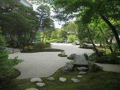 """Adachi constructed his Japanese garden with the hope that through its seasonal expression of natural beauty visitors would be inspired to view Taikan's paintings with a renewed sense of appreciation. This new appreciation would then lead to increased interest in the works of other Japanese painters, fulfilling Adachi's hope that visitors would be """"moved by beauty."""""""