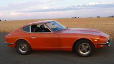 The car I met my husband in, 1971 Datsun 240Z.  We fell in love in this car.