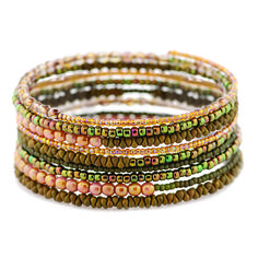 Memory Wire Bracelet Kit by FusionBeads.com®