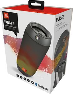 Black Up-To-Date Styling Creative Brand New Jbl Pulse 3 Portable Bluetooth Speaker Portable Audio & Headphones Consumer Electronics
