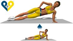 Plank lateral apoiado no cotovelo