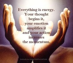 Everything is Energy~