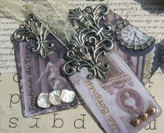 Katalina Jewelry: Is It Junk? Crown Jewels? Or... Something Else? Upcycled Laminate Samples Into Jewelry.