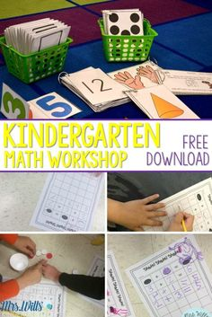 Kindergarten Math Wo