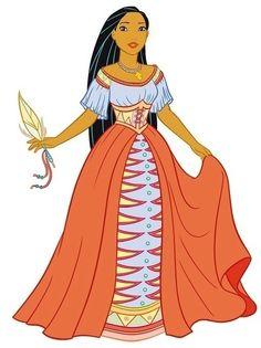 chibi pocahontas | Disney Leading Ladies Pocahontas