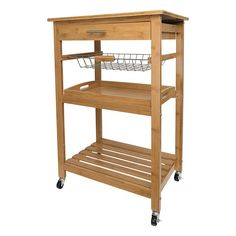 Get the extra storage space you crave with the Boraam Aya Bamboo Kitchen Cart - Stainless Steel Top . Beautifully designed, this kitchen cart is crafted. Bath Storage, Storage Drawers, Storage Spaces, Kitchen Storage Trolley, Grace Kitchen, Freedom Furniture, Kitchen Tops, Kitchen Ideas, Kitchen Carts