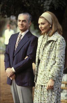 Empress Farah Pahlavi of Iran, 1979......http://www.pinterest.com/madamepiggymick/arab-royalty-iran/