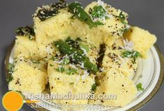 How to make Dhokla in Microwave