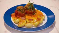 Tomaten gevuld met Provençaals gehakt - recept | 24Kitchen