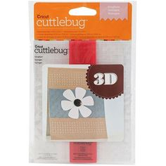 Cuttlebug Cricut Cuttlebug A2 3D Embossing Folder and Border, Gingham Multi-Colored