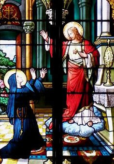 St. Margaret Mary Alacoque, Visitation Nun The first manifestation of the Sacred Heart.